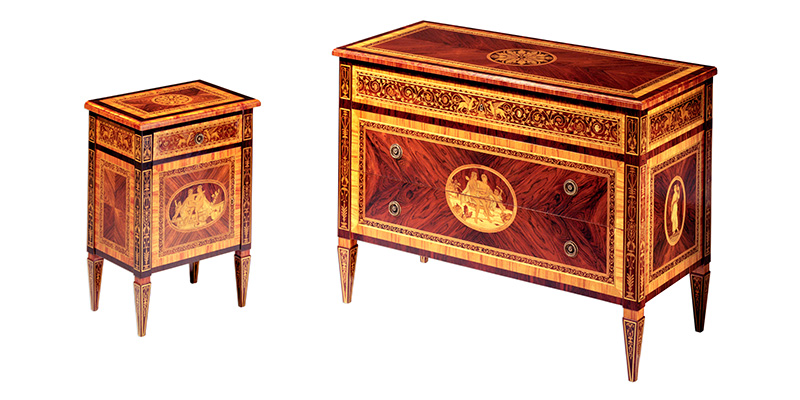 Maggiolini style furniture - Museum Collection