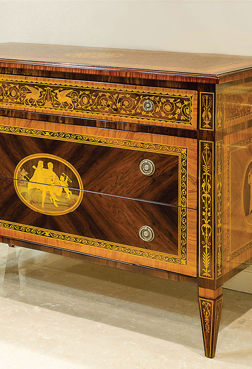 Inlaid furnishings #1